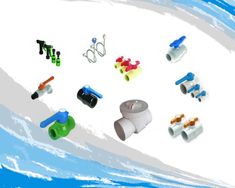 Válvulas hidráulicas de PCP de CPVC