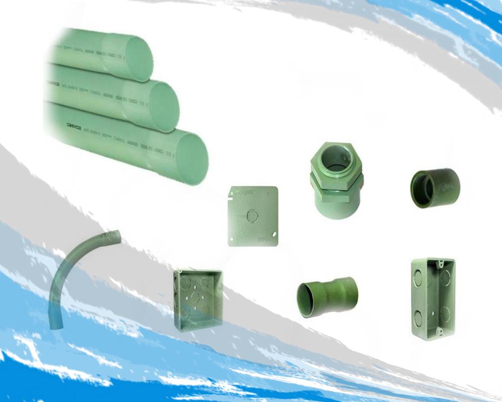 Tubería y Conexión PVC Conduit tipo pesado