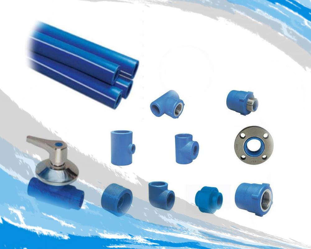 Tubería y Conexión de POLIMEX Azul Fusión