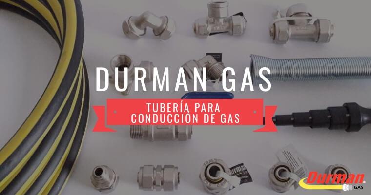 Portada Tubería Durman Gas Artículo